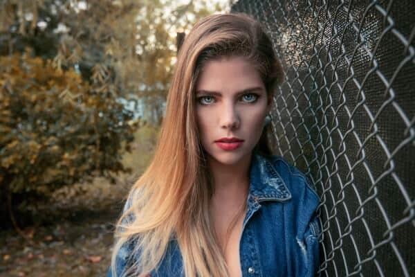 Blonde Argentine Girl