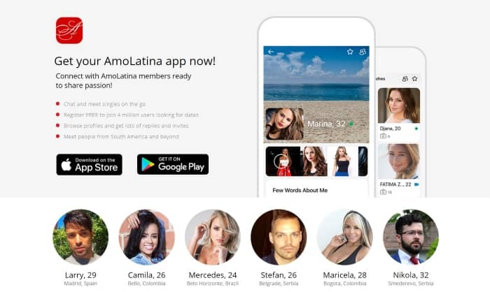 Install The Amolatina Live Dating App
